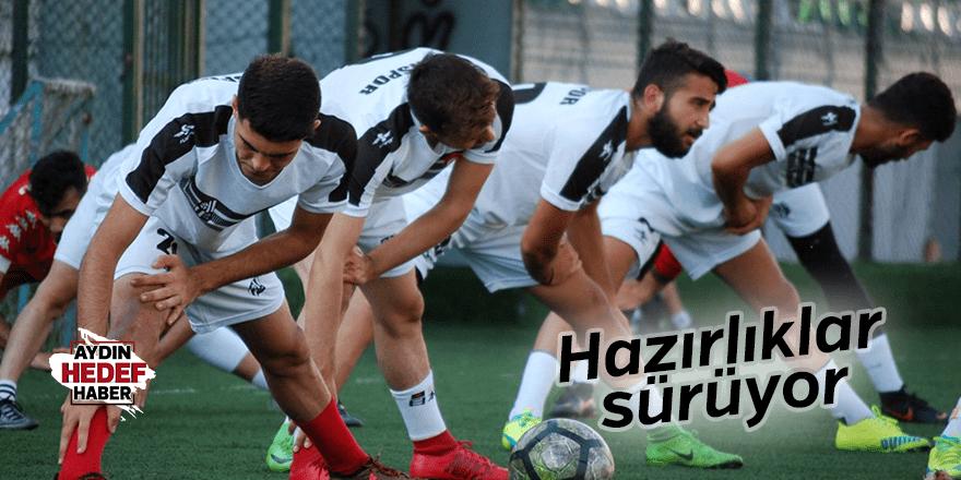 Aydınspor'da hazırlıklar sürüyor