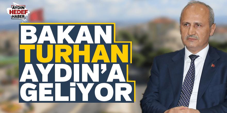 Bakan Turhan Aydın'a geliyor