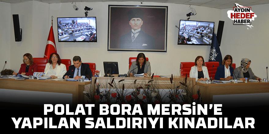 Mersin'e yapılan saldırıyı kınadılar