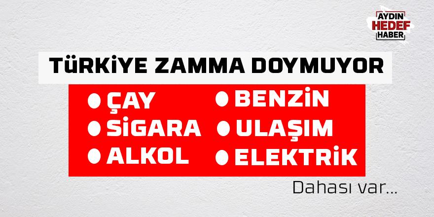Türkiye zama doymuyor