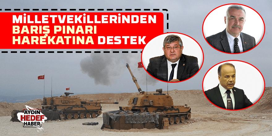 Milletvekillerinden Barış Pınarı Harekatı'na tam destek