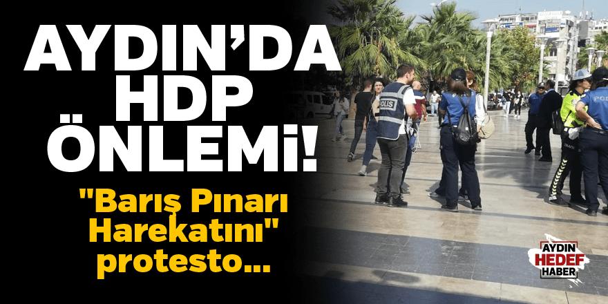 HDP'den Barış Pınarı protestosu