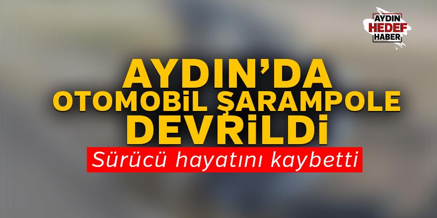 Aydın'da otomobil şarampole devrildi: 1 ölü