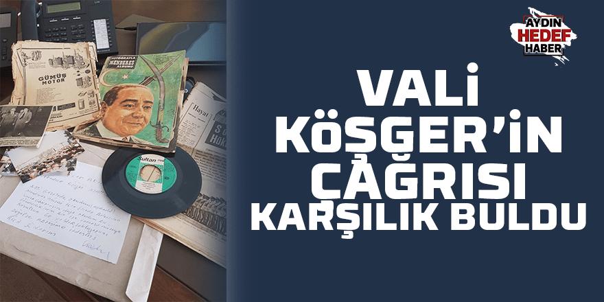 Vali Köşger'in çağrısı karşılık buldu