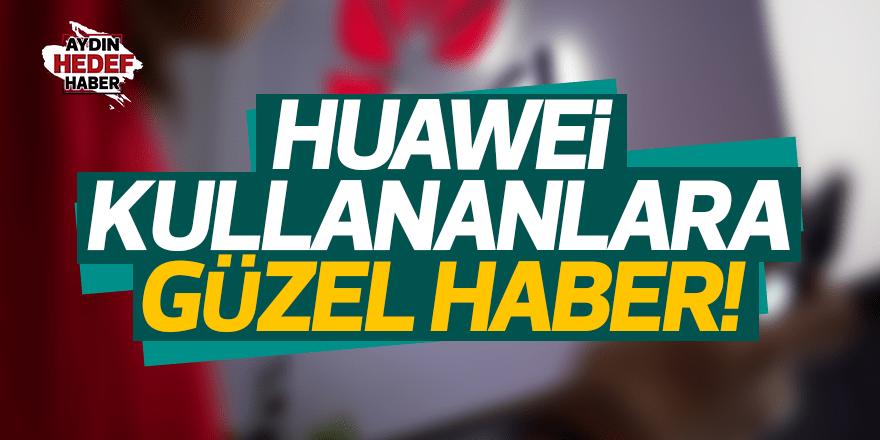Huawei, ABD ile anlaştı