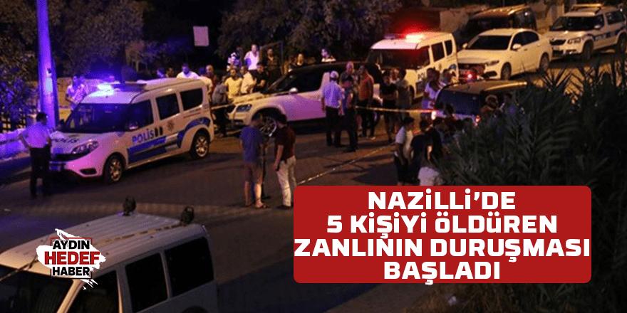 5 kişiyi öldüren zanlının duruşması başladı