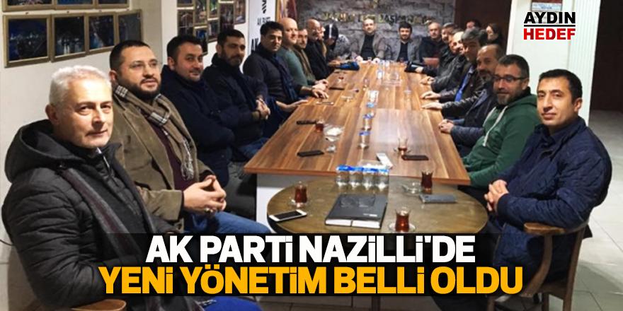 AK Parti Nazilli'de yeni yönetim belli oldu