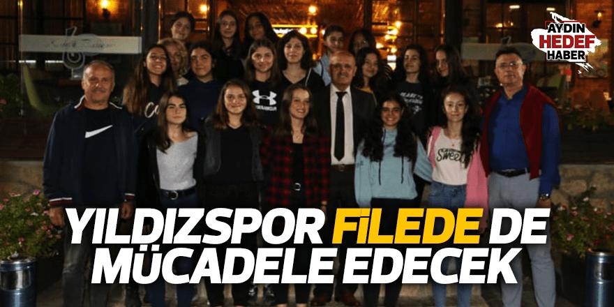 Yıldızspor filede de mücadele edecek