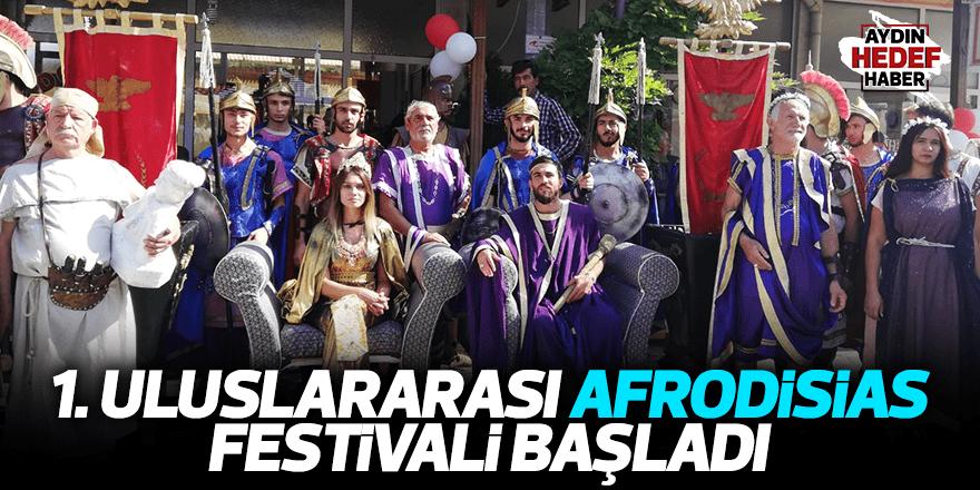 1. Uluslararası Afrodisias Festivali başladı