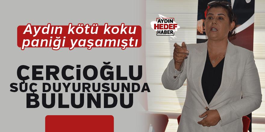 """Çerçioğlu: """"Suç duyurusunda bulunduk"""""""