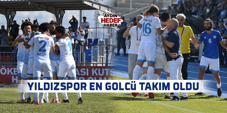 Yıldızspor en golcü takım oldu