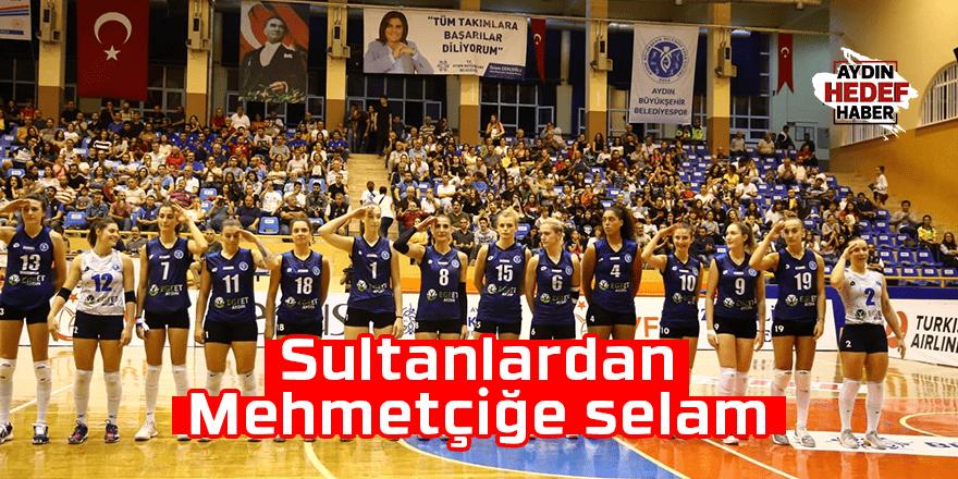 Sultanlardan Mehmetçiğe selam