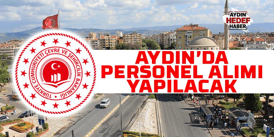 Çevre ve Şehircilik Bakanlığı Aydın'da personel alacak