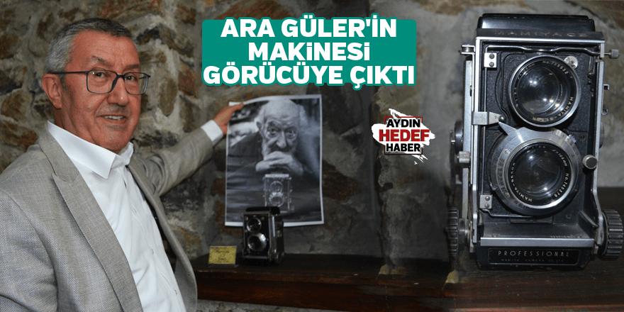 Güler'in makinesi görücüye çıktı