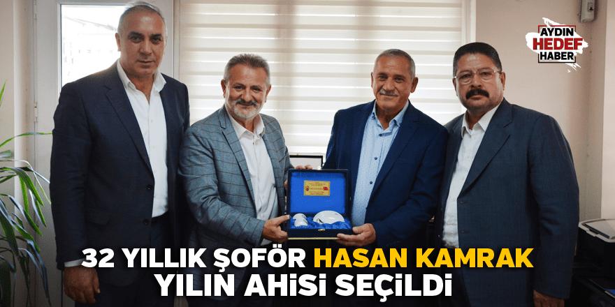 32 yıllık şoför Hasan Kamrak, yılın ahisi seçildi
