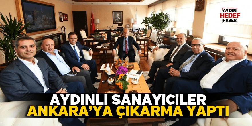 Aydınlı sanayiciler Ankara'ya çıkarma yaptı