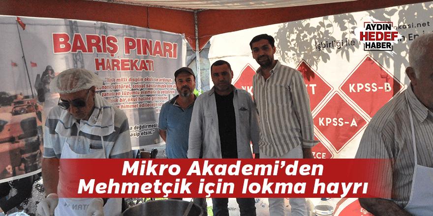 Mikro Akademi'den Mehmetçik için lokma hayrı