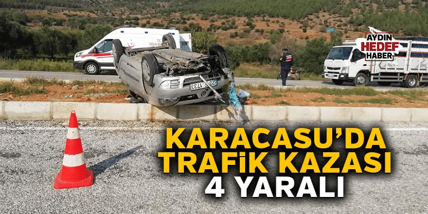 Karacasu'da kaza 4 yaralı