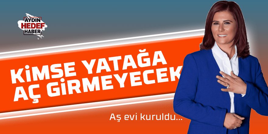 """Çerçioğlu, """"Hiç kimse yatağa aç girmeyecek"""""""
