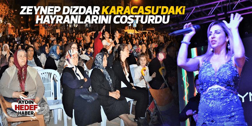 Zeynep Dizdar Karacasu'daki hayranlarını coşturdu