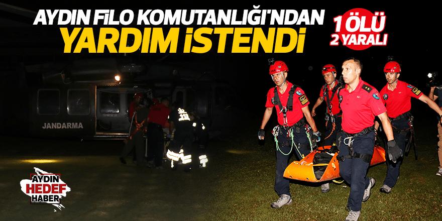 Paraşüt kazası: 1 ölü, 2 yaralı