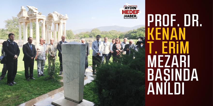 Prof. Dr. Kenan T. Erim mezarı başında anıldı
