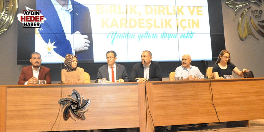 AK Parti Nazilli'de Danışma Meclisi Toplantısı Gerçekleştirildi