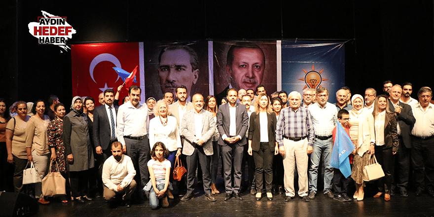 AK Parti Efeler İlçe Danışma Meclisi toplandı