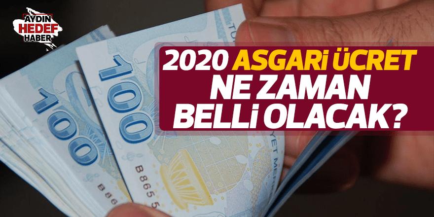 2020 asgari ücret ne zaman belli olacak?