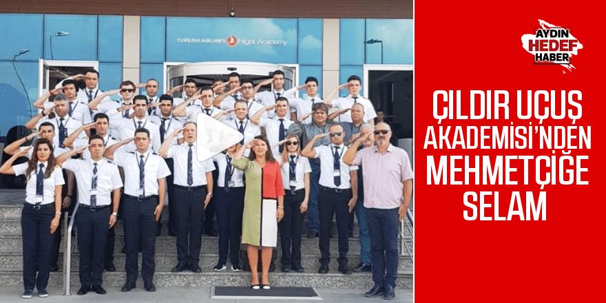 Çıldır Uçuş Akademisi'nden Mehmetçiğe selam