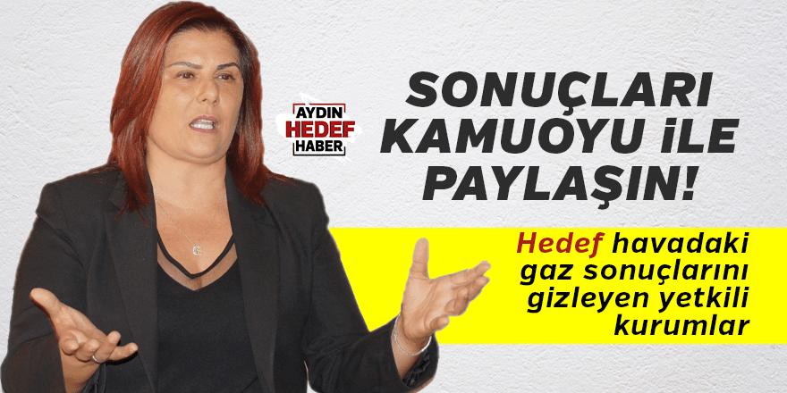 """Çerçioğlu, """"Sonuçları kamuoyu ile paylaşın"""""""