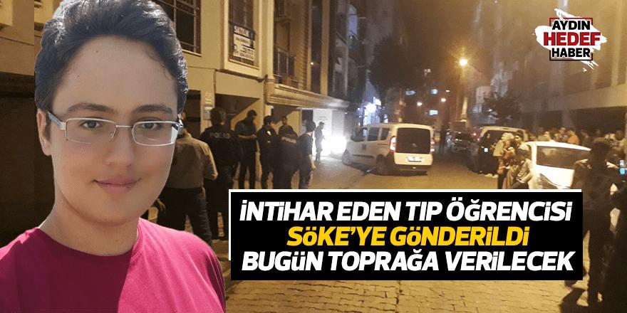 Aydın'da intihar eden tıp öğrencisi Söke'ye gönderildi