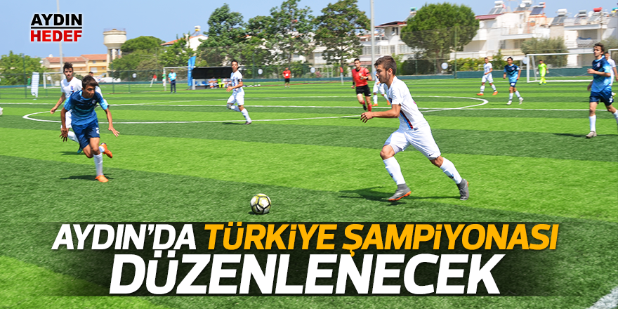 Aydın'da Türkiye Şampiyonası düzenlenecek