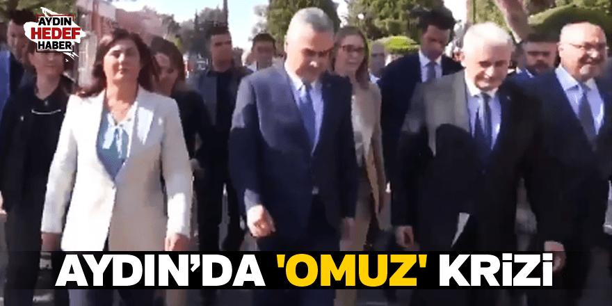 Aydın'da 'Omuz' krizi