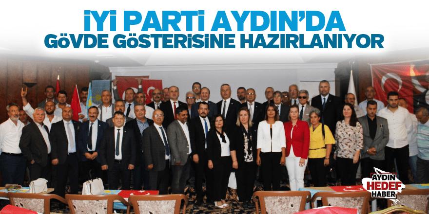 İYİ Parti, Aydın'da gövde gösterisine hazırlanıyor