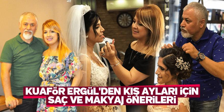 Kuaför Ergül'den kış ayları için saç ve makyaj önerileri