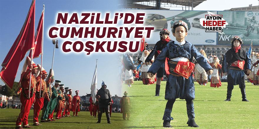 Cumhuriyet'in 96. Yılı Nazilli'de Coşkuyla Kutlandı