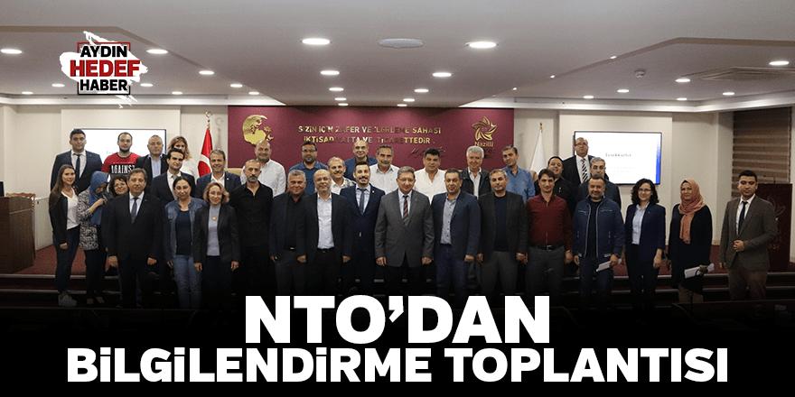 NTO'dan bilgilendirme toplantısı