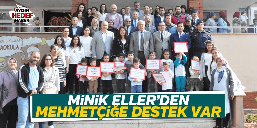 Nazillili Minik Eller'den Mehmetçiğe Destek Var