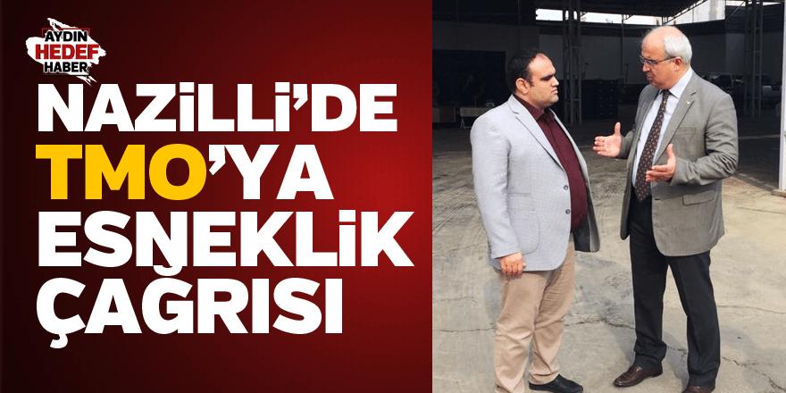 NAZİLLİ'DE TMO'YA ESNEKLİK ÇAĞRISI