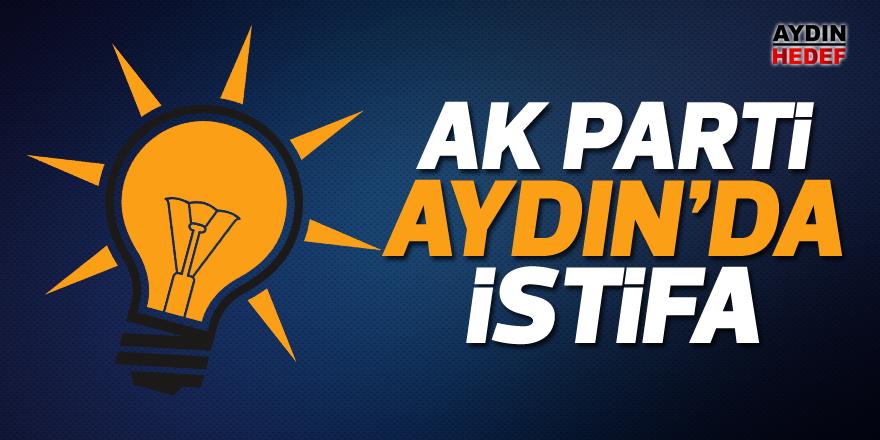 AK Parti Aydın'da istifa