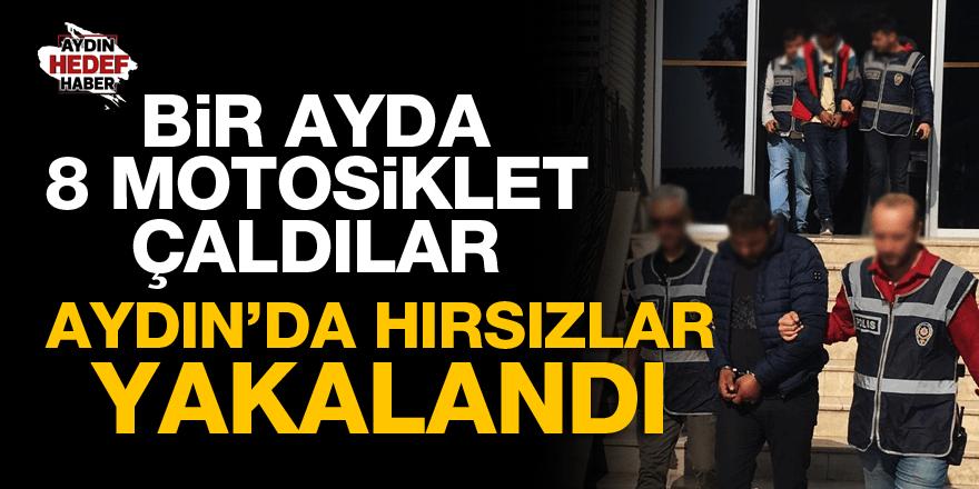 Aydın'da 1 ayda 8 motosiklet çaldılar