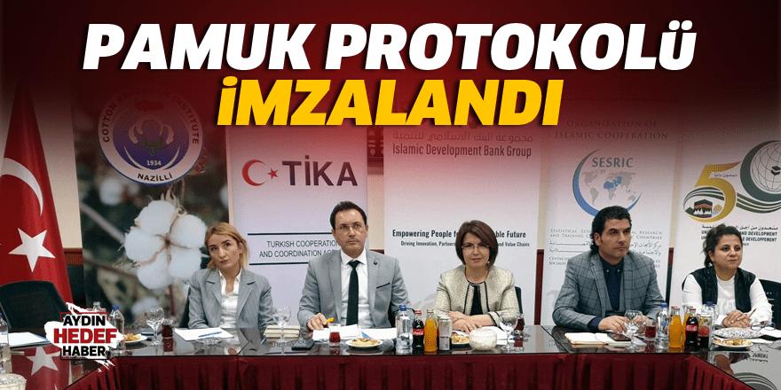 Türkiye ve Bangladeş arasında pamuk protokolü imzalandı
