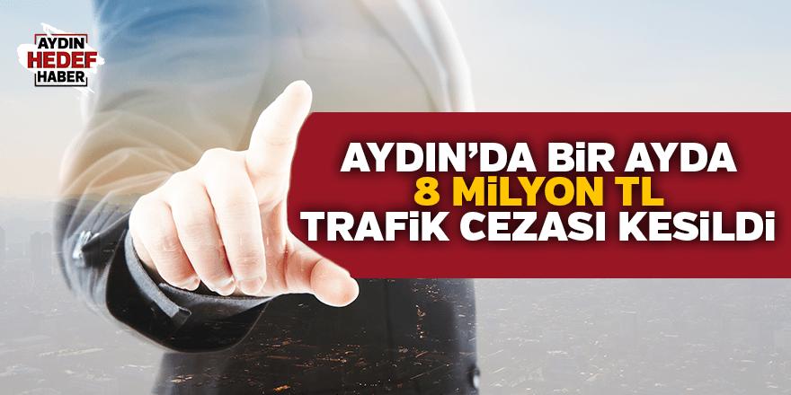 Aydın'da 1 ayda 8 milyon TL ceza kesildi
