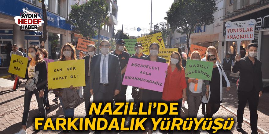 Nazilli'de Farkındalık Yürüyüşü