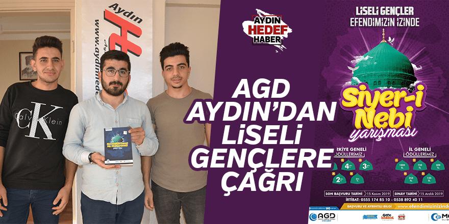 AGD Aydın'dan liseli gençlere çağrı