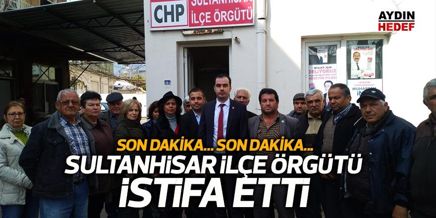 CHP İlçe örgütü istifa etti