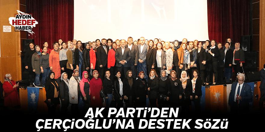 AK Parti'den Çerçioğlu'na destek sözü
