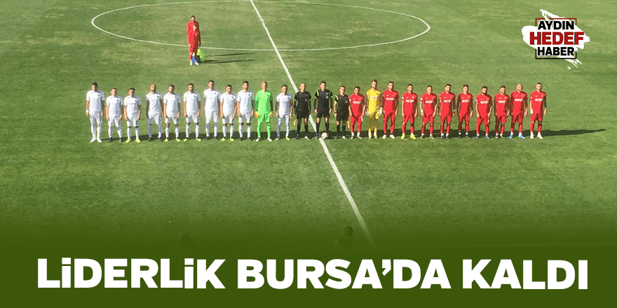 Liderlik Bursa'da kaldı