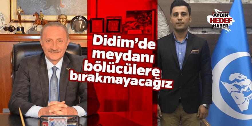 Didim Ülkü Ocakları'ndan Atabay'a tepki